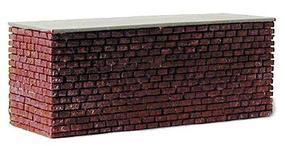 Railstuff Stone Center Bridge Pier Double Track Red Model Train Bridge HO Scale #1640