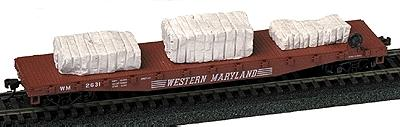 Railstuff Cut Stone Loads w/Drill Marks Unpainted Model Train Freight Car HO Scale #1680