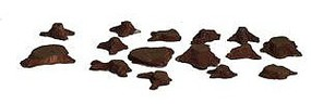 Railstuff Tree Stumps Tiny Assorted Sizes (14) Model Railroad Scenery N Scale #1