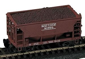 Railstuff Taconite Loads For Walthers Ore Car Model Train Freight Car HO Scale #2040