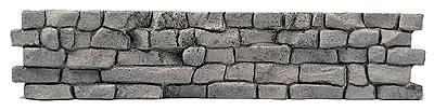 Railstuff Interlocking Large Stones Retaining Wall Model Railroad Scenery HO Scale #210