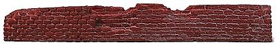 Railstuff Retaining Walls Run Down Red Brick Model Railroad Scenery HO Scale #440