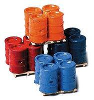 Railstuff Banded 55-Gallon Drums on Pallets Model Railroad Building Accessory HO Scale #560