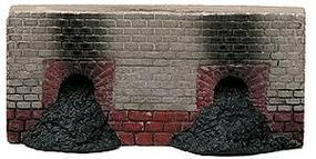 Railstuff Coke Oven Fronts Open (2) Model Railroad Building Accessory HO Scale #590