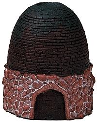 Model Railstuff Beehive Bell Style Coke Oven Intact -- Model Railroad Building Accessory -- HO Scale -- #630