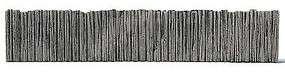 Railstuff Retaining Walls Rotted Pilings Model Train Bridge Wall HO Scale #820