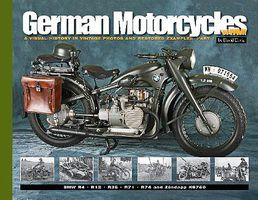 MilitaryMiniatures German Motorcycles of WWII- A Visual History in Vintage Photos & Restored Examples Part 1