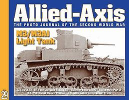 MilitaryMiniatures Allied Axis #29 Photo Journal of WWII Military History Book #aa29