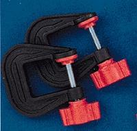 Mascot Precision Tools Mini Clamps- 1'' Opening (2)