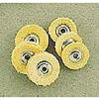 Mascot Chamois Buff Assortment- (3) 3/4x3 Ply & (3) 5/8 Ply Mini Buffs