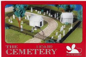 Mouse-Models HO Cemetery Kit