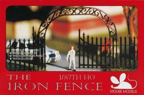 Mouse-Models HO Iron Fence