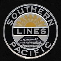 Microscale Embossed Die-Cut Metal Sign - Southern Pacific Model Railroad Print Sign #10005