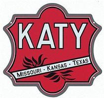 Microscale Embossed Die-Cut Metal Sign - Missouri-Kansas-Texas Katy Model Railroad Print Sign #10029