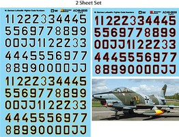 Microscale Luftwaffe Fighter Codes 1/48 Scale