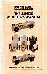Microscale Inc Pinewood Racer Junior Modeler's Manual