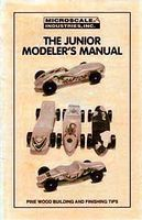 Microscale Pinewood Racer Junior Modelers Manual