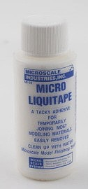 Microscale Micro Liquitape 1oz Bottle Miscellaneous Glue #mi10