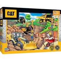 Masterpiece Caterpillar- Construction Vehicles Day at the Quarry Puzzle (60pc)