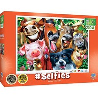 Masterpiece Selfies- Barnyard Besties Animals Puzzle (200pc)
