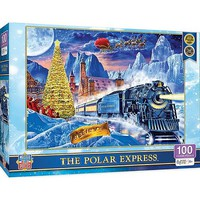 Masterpiece The Polar Express Winter Scene Puzzle (100pc)