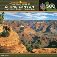 Masterpiece Grand Canyon South Rim 500pcs Jigsaw Puzzle 0-599 Piece #30726