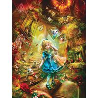 Masterpiece Down The Rabbit Hole 300EZ Jigsaw Puzzle 0-599 Piece #31443