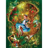 Masterpiece Alice In Wonderland 300EZ Jigsaw Puzzle 0-599 Piece #31460