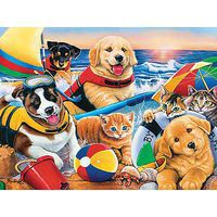 Masterpiece Beach Party 300EZ Jigsaw Puzzle 0-599 Piece #31467