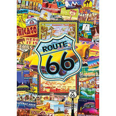 Masterpiece Route 66 1000pcs -- Jigsaw Puzzle 600-1000 Piece -- #31527