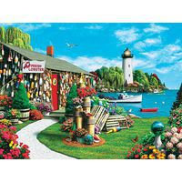 Masterpiece Lobster Bay 300EZ Jigsaw Puzzle 0-599 Piece #31543