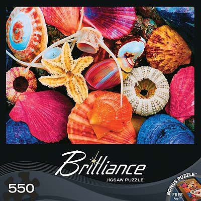 Masterpiece Tidal Treasures 550pcs -- Jigsaw Puzzle 0-599 Piece -- #31625