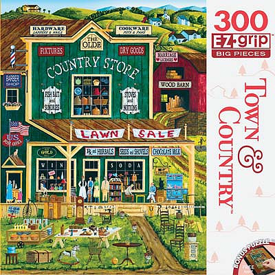 Masterpiece The Old Country Store 300pcs EZ -- Jigsaw Puzzle 0-599 Piece -- #31678