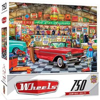 Masterpiece Wheels- The Auctioneer Classic Cars Puzzle (750pc)