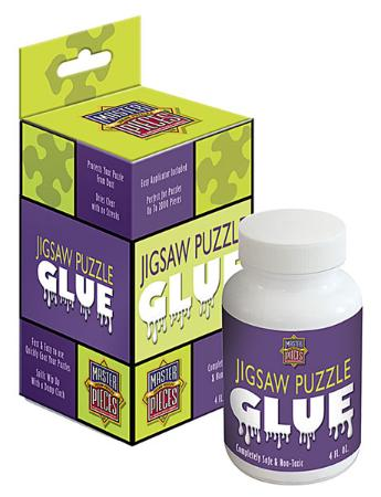 Masterpiece Puzzle Glue 5 oz -- Jigsaw Puzzle Glue Mat Accessory -- #50202