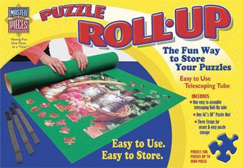 Masterpiece Puzzle Roll-Up In A Box -- Jigsaw Puzzle Glue Mat Accessory -- #50501