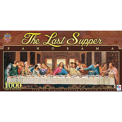 Masterpiece Last Supper 1000pcs Pano -- Jigsaw Puzzle 600-1000 Piece -- #71372