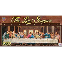 Masterpiece Last Supper 1000pcs Pano Jigsaw Puzzle 600-1000 Piece #71372