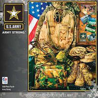 Masterpiece Army Strong 1000pcs Jigsaw Puzzle 600-1000 Piece #71512