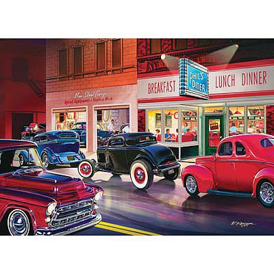 Masterpiece Phil's Diner 1000pcs -- Jigsaw Puzzle 600-1000 Piece -- #71514