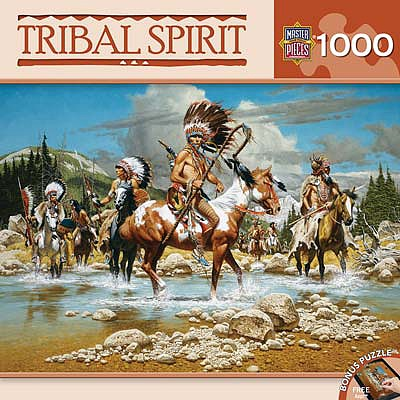 Masterpiece The Chiefs 1000pcs -- Jigsaw Puzzle 600-1000 Piece -- #71612
