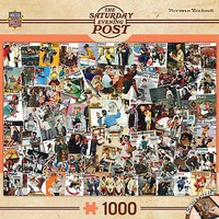 Masterpiece Rockwell Collage 1000pcs Jigsaw Puzzle 600-1000 Piece #71621