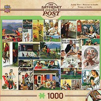 Masterpiece Family Time Collage 1000pcs Jigsaw Puzzle 600-1000 Piece #71624