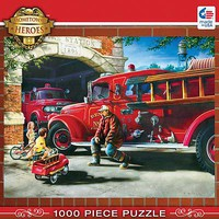 Masterpiece Firehouse Dreams 1000pcs Jigsaw Puzzle 600-1000 Piece #71630