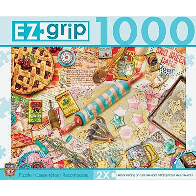 Masterpiece Pastry Party 1000pcs EZ -- Jigsaw Puzzle 600-1000 Piece -- #71669