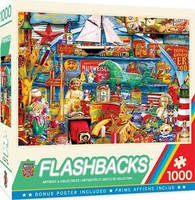 Masterpiece Flashbacks- Antiques & Collectibles Collage Puzzle (1000pc)