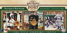 Masterpiece Norman Rockwell Baseball 1000pcs Jigsaw Puzzle 600-1000 Piece #91341