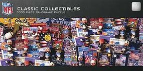 Masterpiece NFL Classic Collectibles 1000pcs Jigsaw Puzzle 600-1000 Piece #91445