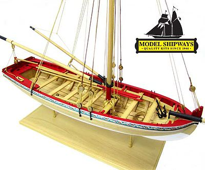 Model-Shipways 18th Century Longboat Wooden Model Ship Kit 1/48 Scale #1457