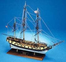 Model-Shipways Rattlesnake US Privateer Wooden Model Ship Kit 1/64 Scale #2028